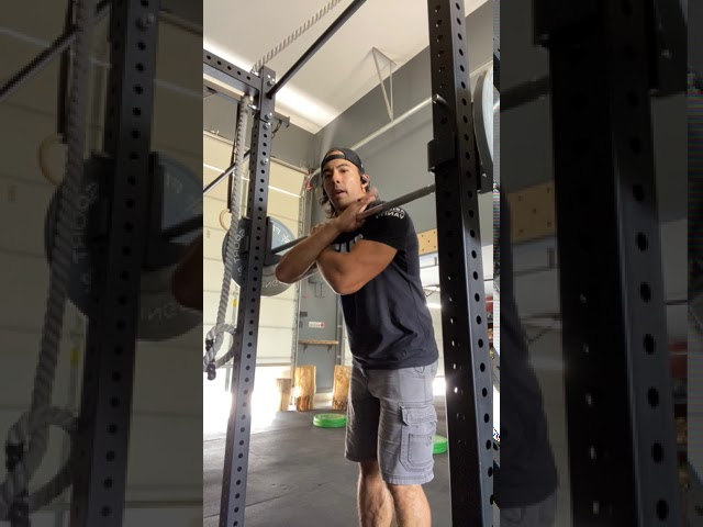 BARBELL FRONT SQUAT - OPTIONS
