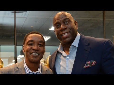 Magic Johnson and Isiah Thomas: What Is Their Relationship? part 3