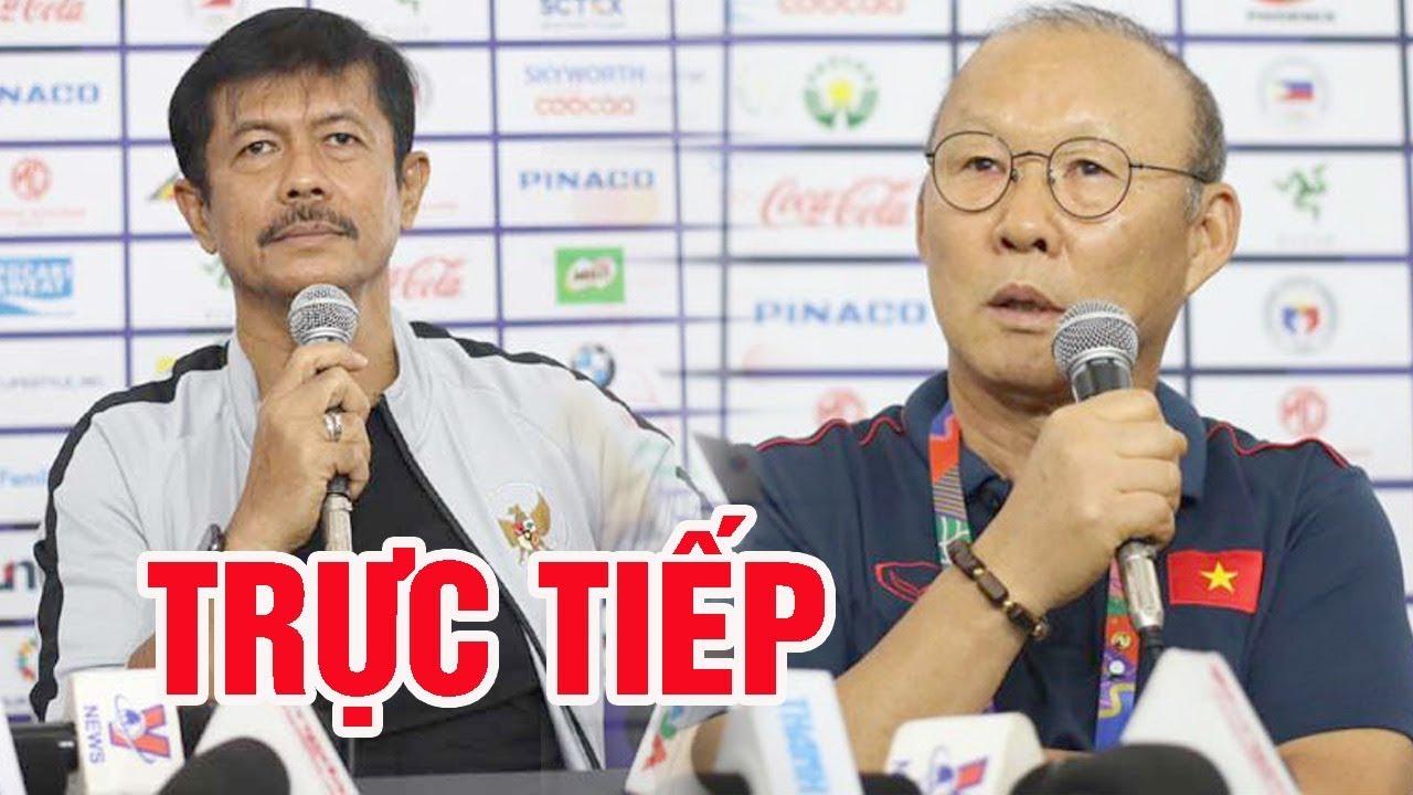 ????TRỰC TIẾP: Họp báo sau trận đấu U22 Việt Nam vs U22 Indonesia: Thầy Park tức giận bỏ họp báo