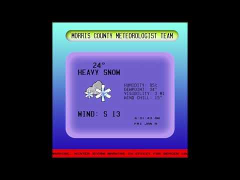 Morris County Meteorological Team : WMCC Weather Channel