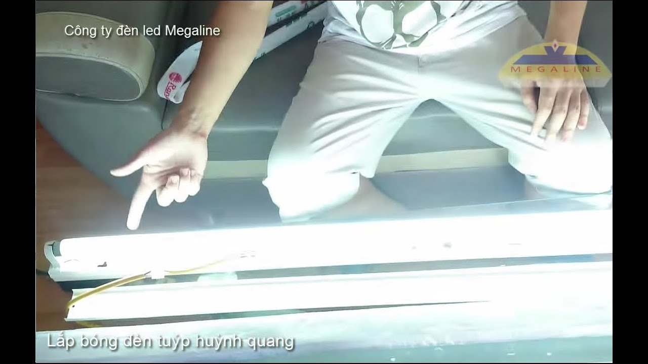 Hướng dẫn cách lắp bóng đèn tuýp LED và đèn tuýp Huỳnh Quang, tuýp Philips