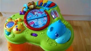 Bright Starts Safari Baby Activity Table