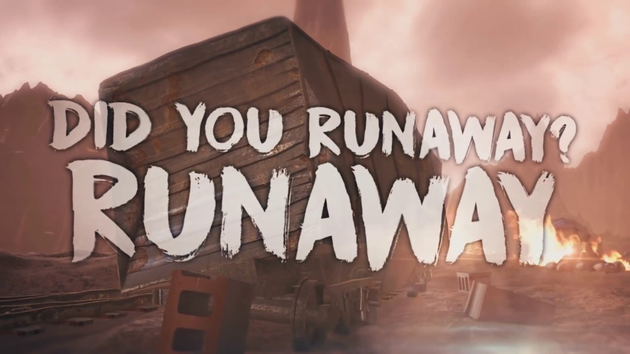 We Are The Empty Runaway Official 3d Lyric Video Youtube