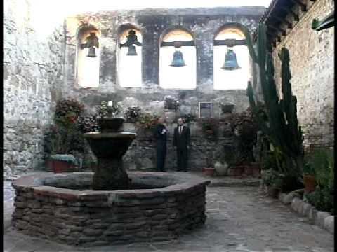 Marvelous Mission San Juan Capistrano Tour   YouTube