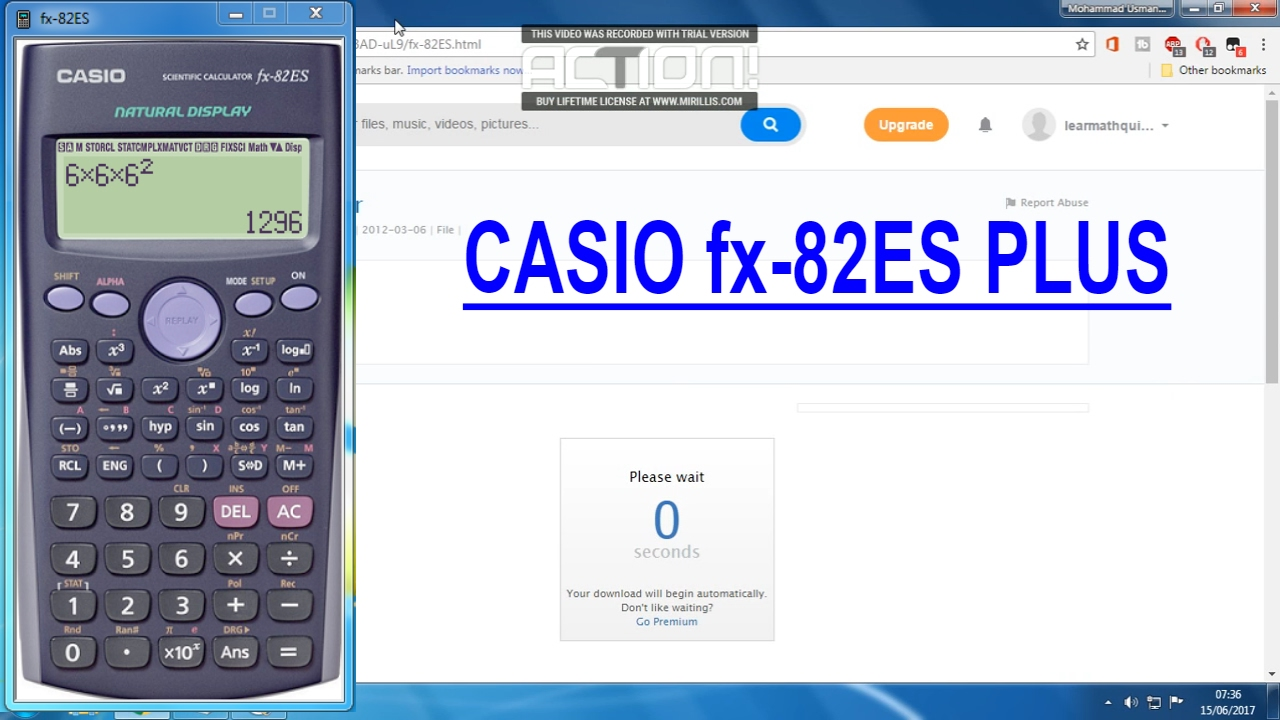 How To Casio Fx 82es Plus For Free Pc
