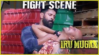 Irumugan - Tamil Movie | Fight Scene | Vikram, Nayantara | Harris Jayaraj