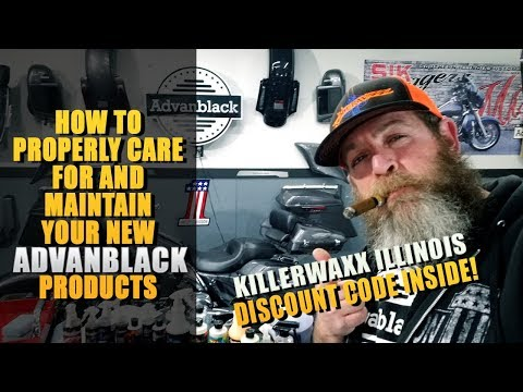 How To Care For Your New Advanblack Products With Killerwaxx