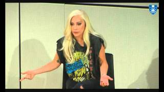 Lady Gaga Message at the Emotion Revolution Summit Yale Video