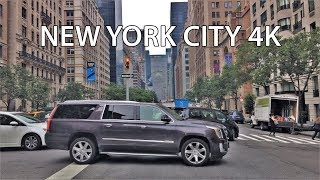 Driving Downtown - Upper East Side 4K - USA