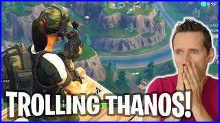 Trolling Thanos from SKYBASE!