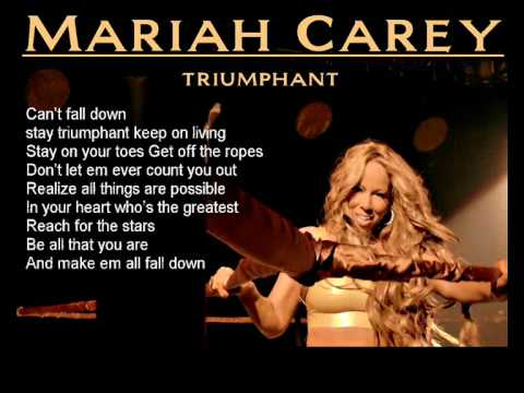 Mariah Carey - Triumphant ( No Rap + Lyrics )