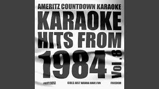 Geh Nicht in Die Stadt (Heut Nacht) (In the Style of Juliane Werding) (Karaoke Version)