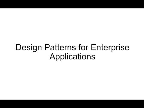 lb09-design-patterns-for-enterprise-applications