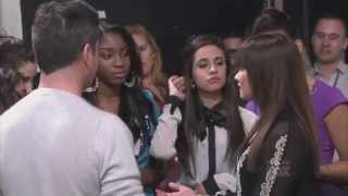 Demi Lovato and Simon Cowell 11 - The X Factor US