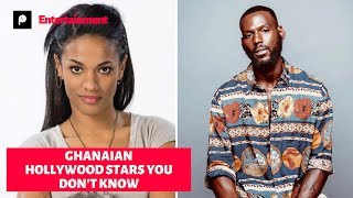 10 Hollywood Stars You Don't Know Are Ghanaian.
