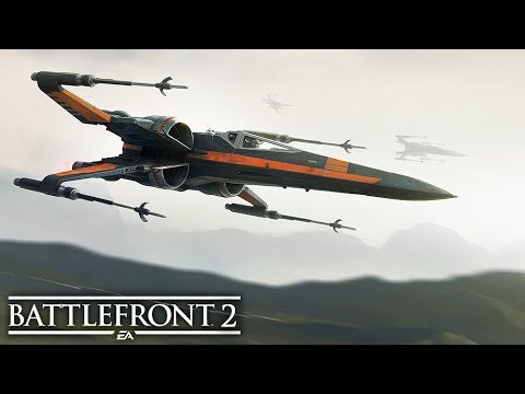 HERO SHIPS ARE EPIC!! - Star Wars Battlefront 2 SPACE BATTLES