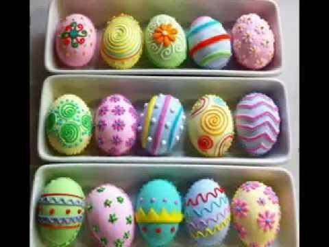 Easter Egg Design Decorating Ideas