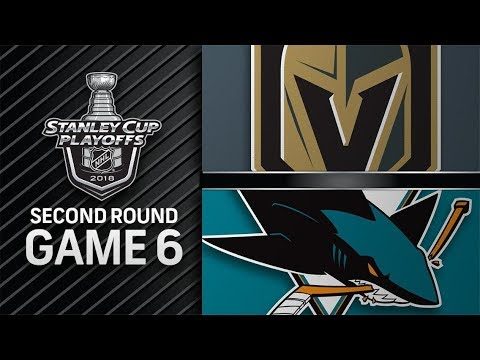 Vegas Golden Knights vs San Jose Sharks – May. 06, 2018 | Game 6 | Stanley Cup 2018. Обзор