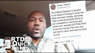 President Trump Wants Stimulus, Doesn't Care About Your Savings (RTD Quick Take)