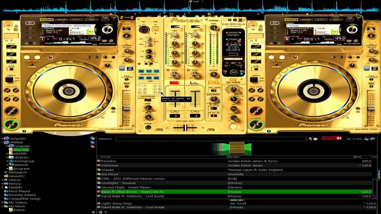 GRATUIT CDJ SKIN 2000 DJ TÉLÉCHARGER VIRTUAL