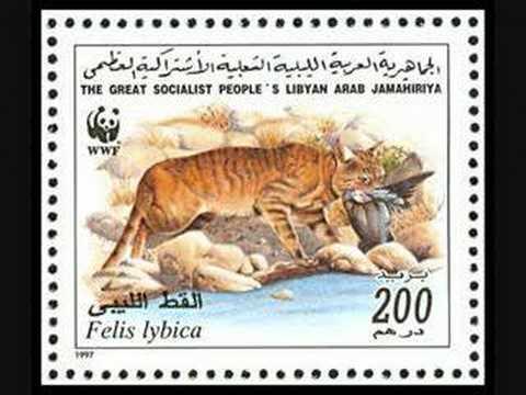 LIBYA - WWF 1987+1997 postal stamps
