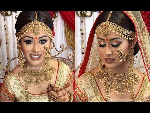 VLOG | Sabyasachi Inspired Bride | Indian Bridal Makeup | keepingupwithmona
