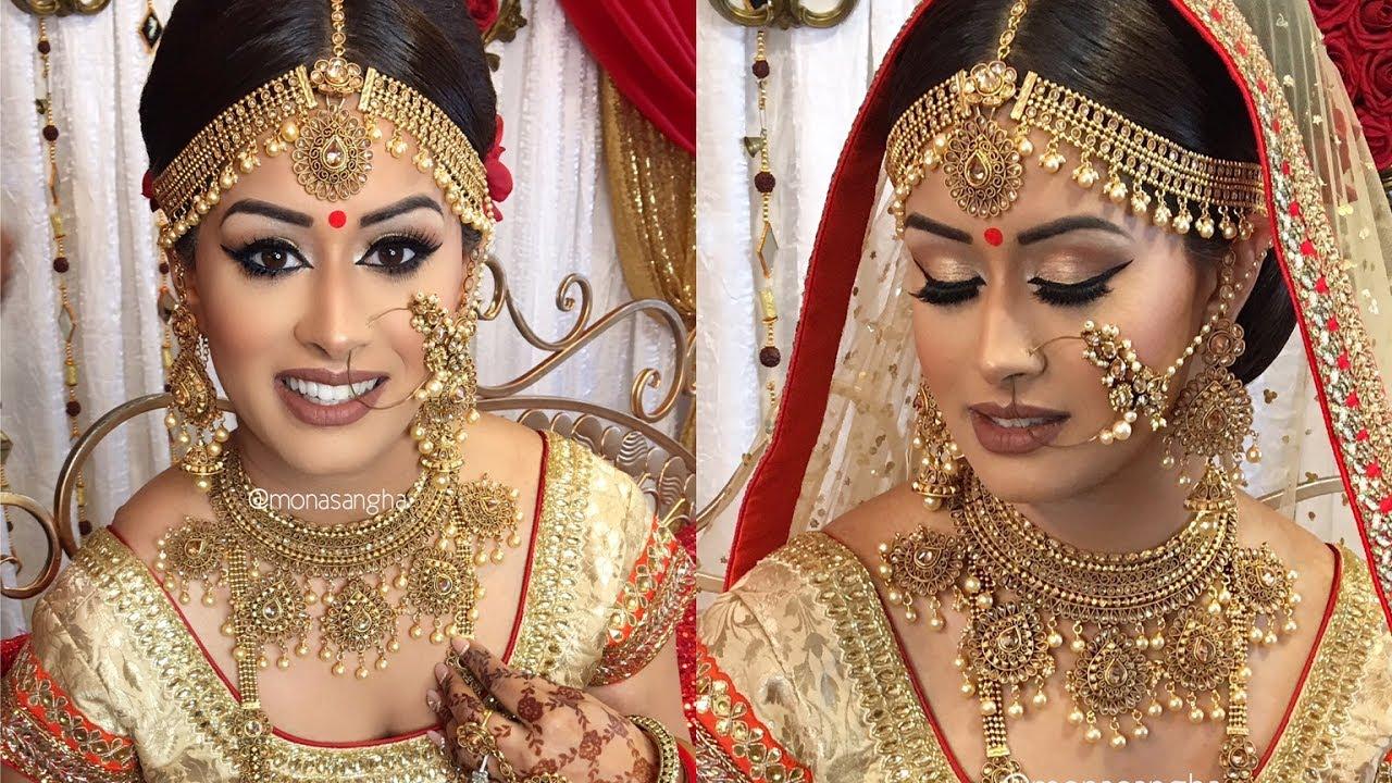 VLOG | Sabyasachi Inspired Bride | Indian Bridal Makeup | keepingupwithmona
