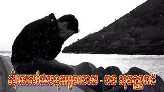 Khmer Song - សុំទោសដែលទុកអូនចោល - ឆន សុវណ្ណរាជ