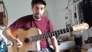 Proper gypsy jazz chords for rhythm changes