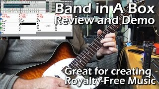 Band in a Box Review - Roots Rock Demo - Tony Lee Glenn