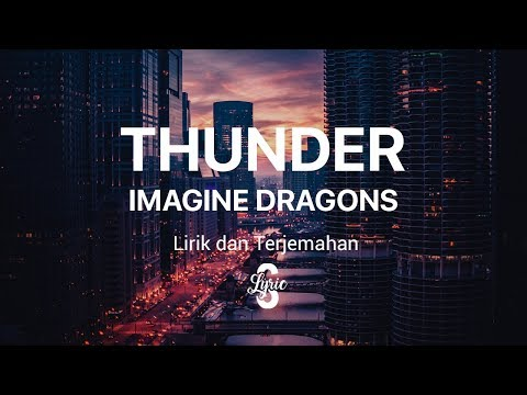 Lyric/lirik Thunder - Imagine Dragons ( Cover By RAJIV DHALL ) Terjemahan