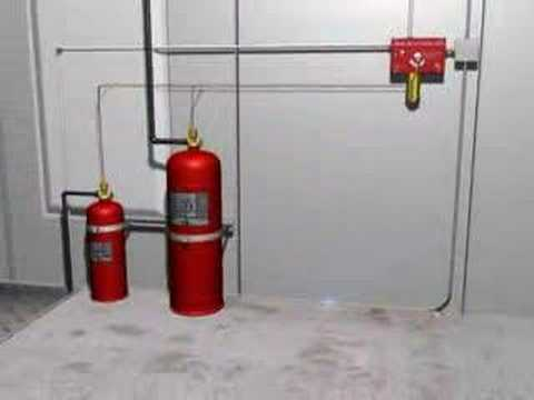 Pyrochem Monarch Dry Chemical Fire Suppression Youtube