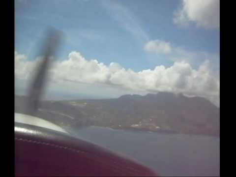 Approach and Landing in Montserrat
