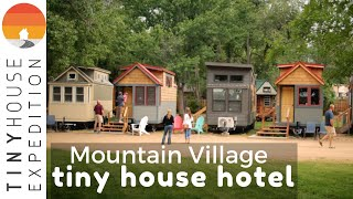 Charming Tiny House Hotel At The Base Of The Rockies: A Tour