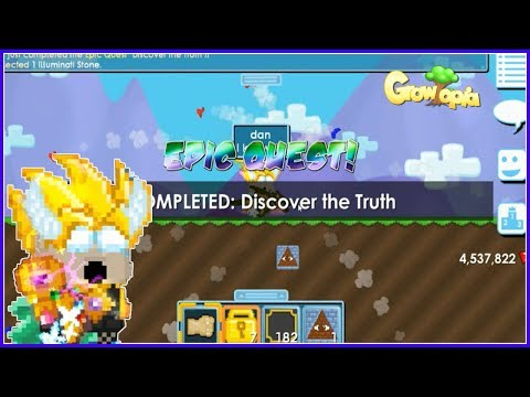 Clear Epic Quest!! Growtopia Indonesia
