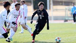 1月27日(日)、宮崎キャンプ初の練習試合は地元のテゲバジャーロ宮崎と...