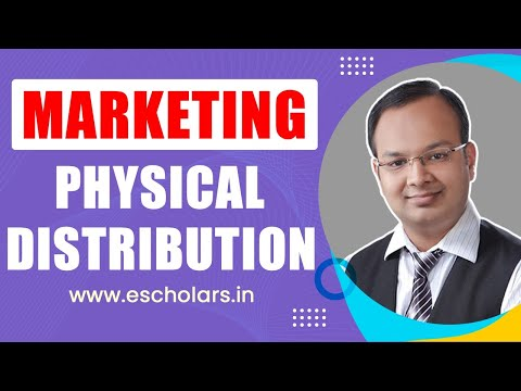 Place Mix  | Physical Distribution Mix Components |#4| Marketing