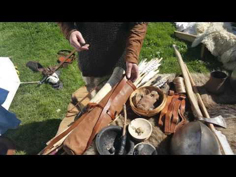 Irish & Viking Medieval Weapons & Armour On Display At Gallow's Hill, Dungarvan