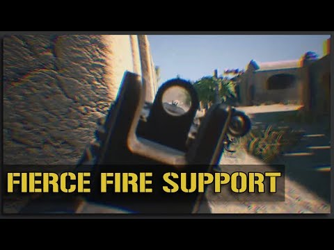 Fierce Fire Support (M249 SAW + M240B Gameplay) - v10 Squad Gameplay