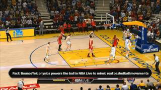 NBA Live 14 Gameplay Demo - IGN Live