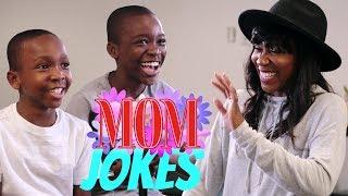 Dad Jokes   ZayZay & JoJo vs. Mrs.KevOnStage (Mom Jokes)
