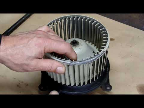 How to replace Blower motor on 2006 Lincoln Mark LT