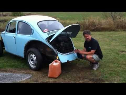 Starting a Classic VW Bug Beetle Engine, By Last Chance Auto Restore.com