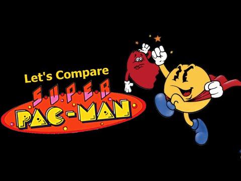 Let's Compare ( Super Pac-Man )