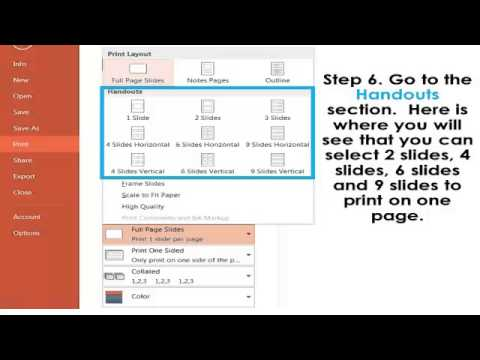 How to Print Flash Cards in PowerPoint - YouTube