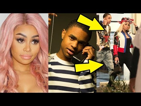 Blac Chyna & YBN Almighty Jay are Dating, She's Done with Playboi Carti
