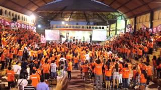 Flashmob Marcha por la Vida Lima 2015