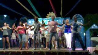 opa opa dance by  animation team @ sharm cliff resort 7/2009 ( sharm el sheikh ) شرم الشيخ