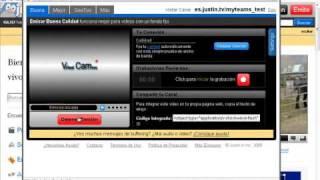 Como transmitir en JTV Justin.tv
