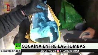 Hallan más de un kilo de cocaína entre las tumbas de un cementerio en Roma